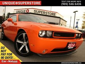 2014 Dodge Challenger R/T| SHAKER| HEMI| NAVI| LEATHER| SUNROOF|