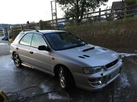 U.K. Subaru Impreza 2l turbo with genuine low miles