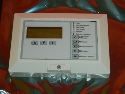 EST EDWARDS RLCD-C-SP REMOTE ANNUNCIATOR SPANISH ESPANOL VERSION ANUNCIADOR