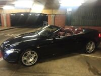 BMW 645i CONVERTIBLE - BLACK - RED LEATHER - URGENT SALE