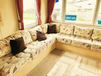 😀😀3 bed DG & CH static caravan for sale on northumberland coast😀😀 Open 12 months Pet friendly