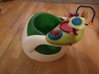Mamas & Papas baby snug + activity tray