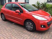 2012 Peugeot 207,Diesel 5dr Low 56 Mileage,FSH,£20 Road Tax,New Mot