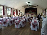 Chair Cover & Sash Hire - £1.25 Each Chair