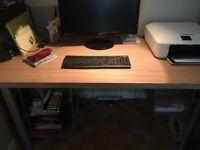 Beech Effect Office Table
