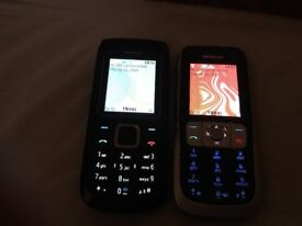 2 Nokia phones on o2. good condition.NO CHARGER. £25 FOR BOTH. NO OFFERS.CAN DELIVER
