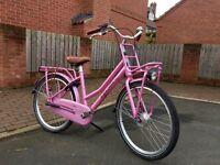 """Gazelle 'Miss Grace' girls Dutch bike. for age 8 -13 years - 24"""" wheel"""