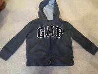 Boys 3-4 yr old jumper/hooded top bundle inc gap