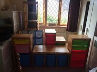 IKEA Trofast Storage System in Pine - Very Good Condition - BARGAIN!!!!