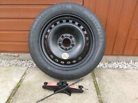 GOODYEAR T152/85 - R16 SPARE SAVER WHEEL & TYRE + NEW JACK