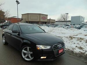 2014 Audi A4 2.0 TURBO-ONE OWNER-AUDI WARRANTY