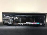 PIONEER mvh-350BT. car cd radio stereo. usb/auxin/Bluetooth/wma.