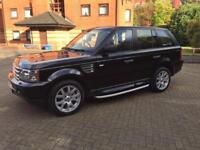 Land Rover Sport.. Diesel Black Metallic New Mot.