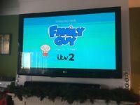 LG 42 inch HD ready TV