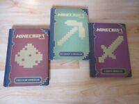 3 Minecraft Handbooks
