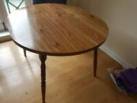 Dining table free to collect