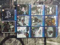 11 Packs Of PS4 Games For Sale