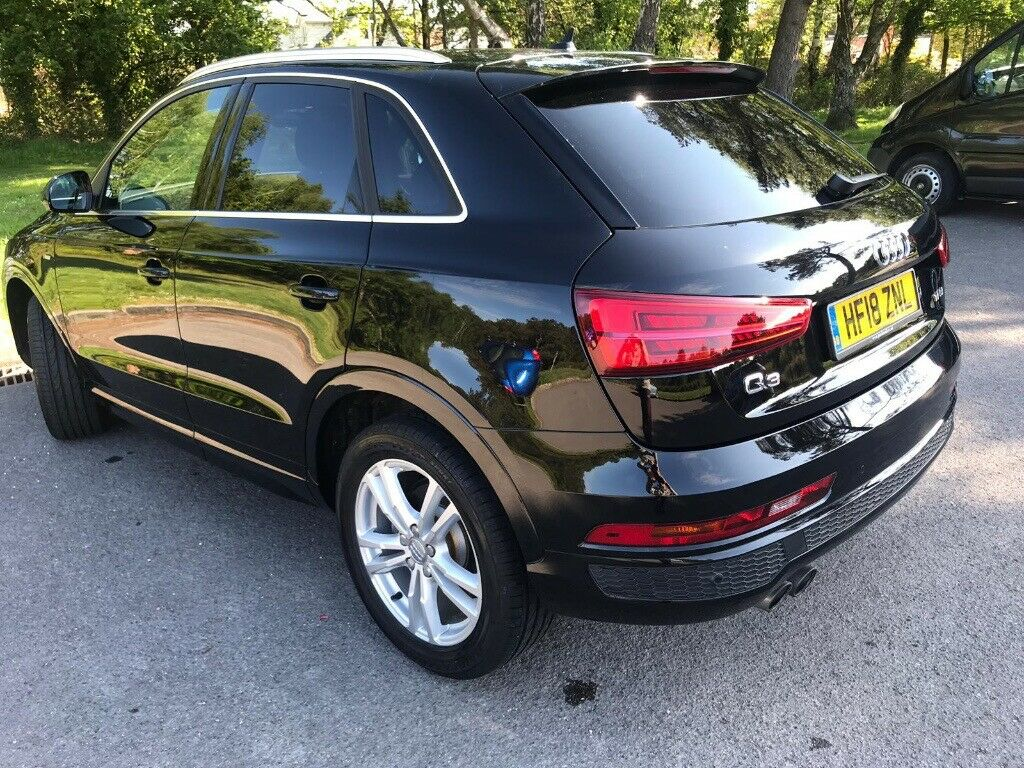audi q3 estate special editions 1.4tfsi s line edition 5dr