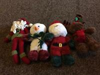 Christmas plus teddys