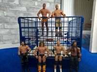 WWE Wrestling Ring & Figures