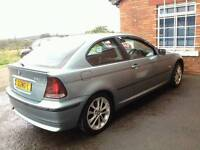 BMW 320 TD Compact 04 plate Breaking