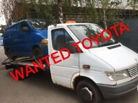 WANTED TOYOTA HIACE POWER VAN ANY CONDITION