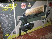 Woodstar LH65 hydraulic log splitter brand new in box