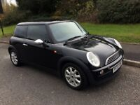 MINI Hatch 1.6 One, 12 MONTHS MOT, Great condition, Half leather/red interior, Service History