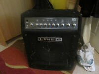 LINE 6 BASS AMPLIFIER....LOW DOWN 150 and Sister Pedal.........£120.