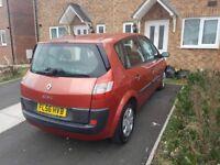Renault scenic 1.4. £295. Long mot.