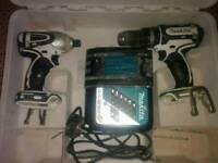 Makita 18v lxt combi drill and impact driver