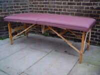 FREE DELIVERY Portable Massage Therapy Table In Purple