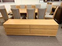 Skovby solid oak Tv cabinet * free furniture delivery *