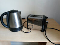 Cookworks Stainless Steel Kettle and Toaster