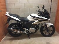 Honda CBF 125. 2010. Lovely Example. Long M.O.T