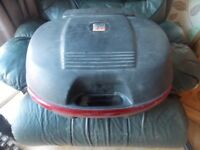 Kappa 50 liter motorcycle top box with back rest