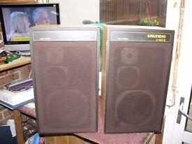 Grundig High Fidelity Speakers, Model G550 II.