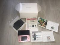 Coral pink Nintendo 3DS