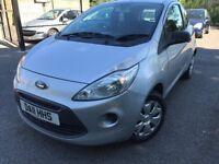 11 plate - ford ka 1.2 petrol - £30/year road tax - one year mot - cheap insurance group