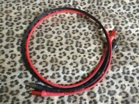 Chord Co. Chorus 2 interconnect cables 1m