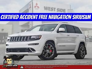 2015 Jeep Grand Cherokee SRT8-Accident Free-Navigation-6.4L V8-