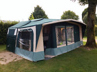 2000 Conway Cruiser folding camper - 6 berth + awning & optional bed pod, 8 berth in total