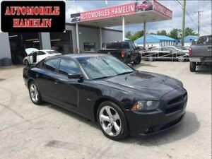 2013 Dodge Charger RT cuir rouge gps mags chrome