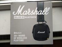 ***Brand New MARSHALL MAJOR 3 Bluetooth Headphones ***