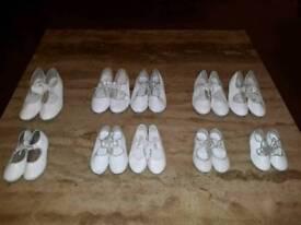 Dance Wear 10pr of Tap & 7pr of Ballet Shoes