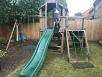 Wooden Climbing Frame and Extras