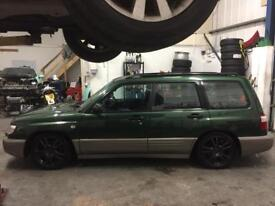 SUBARU FORESTER TURBO MANUAL. MINT EXAMPLE