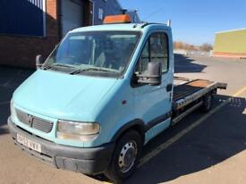 Vauxhall movano 2.5dci recovery
