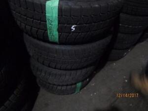 215/65R17 2 ONLY USED AEOLUS SNOW TIRES