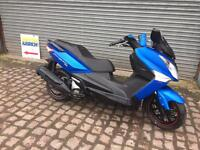 Sym Joymax 300, Maxi scooter, 2016, Blue, 1 owner